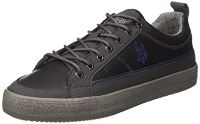 VIGOR4200W7/LS1, Baskets Montantes Homme - Gris - Gris (Dark Grey DKGR), 41 EU EUU.S.Polo Association