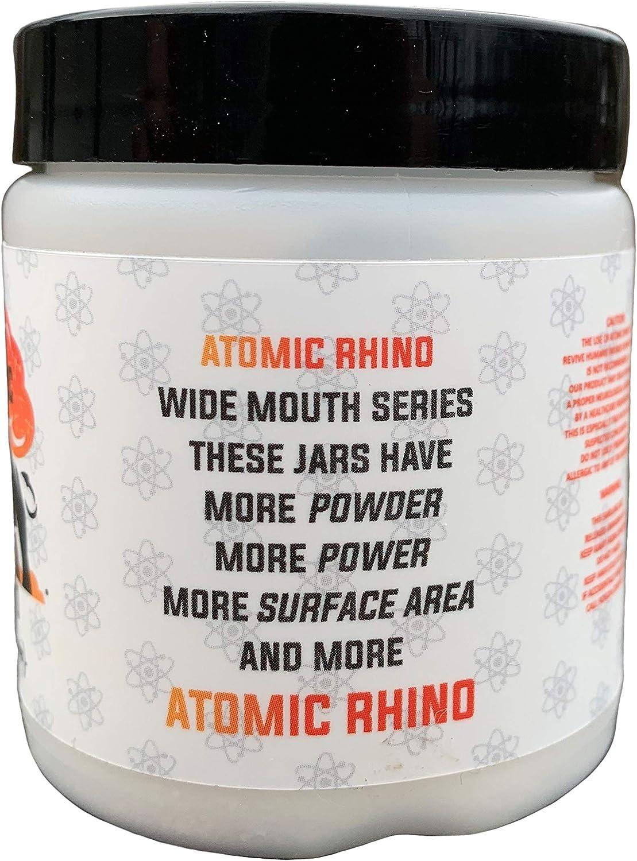 Atomic Rhino WideMouth, Oversized Reusable Smelling Salt Heavy Hitting Formula: Health & Personal Care