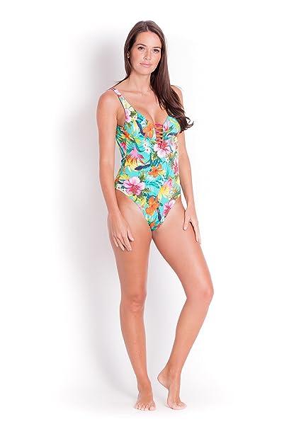 4a33d5d0ff732 Banana Moon Miller Tripod, 1-Piece Shirt, Blue, Manufacturer Size: 36:  Amazon.co.uk: Clothing