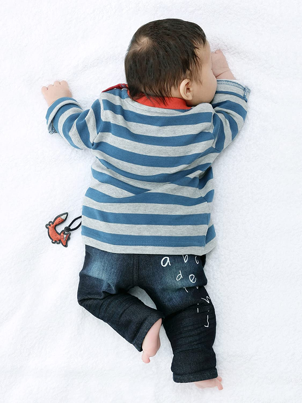 Sigikid Boys Jeans Baby Gef/üttert