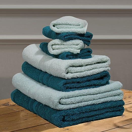 Mix & match lujo 100% – juego de toallas de algodón egipcio toalla ...