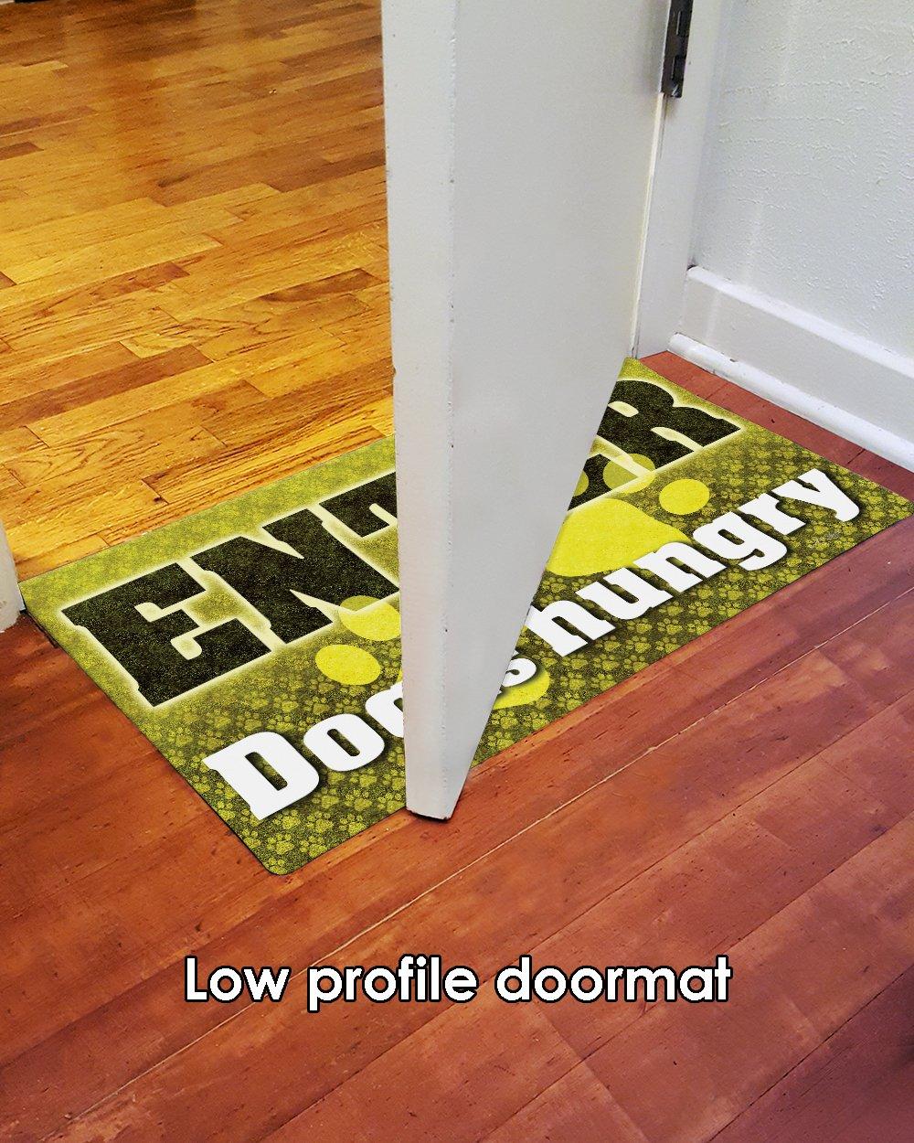Toland Home Garden 800434 Feed The Dog Doormat 18 x 30 Multicolor 18 x 30 Multicolor