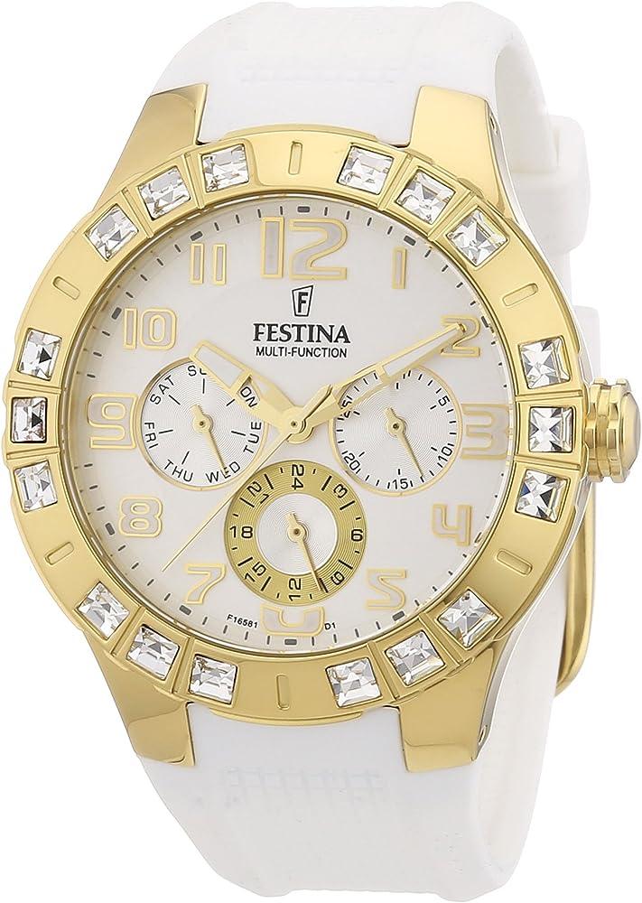 Festina Trend Golden Dream Multifunktion F16581/1 - Reloj ...
