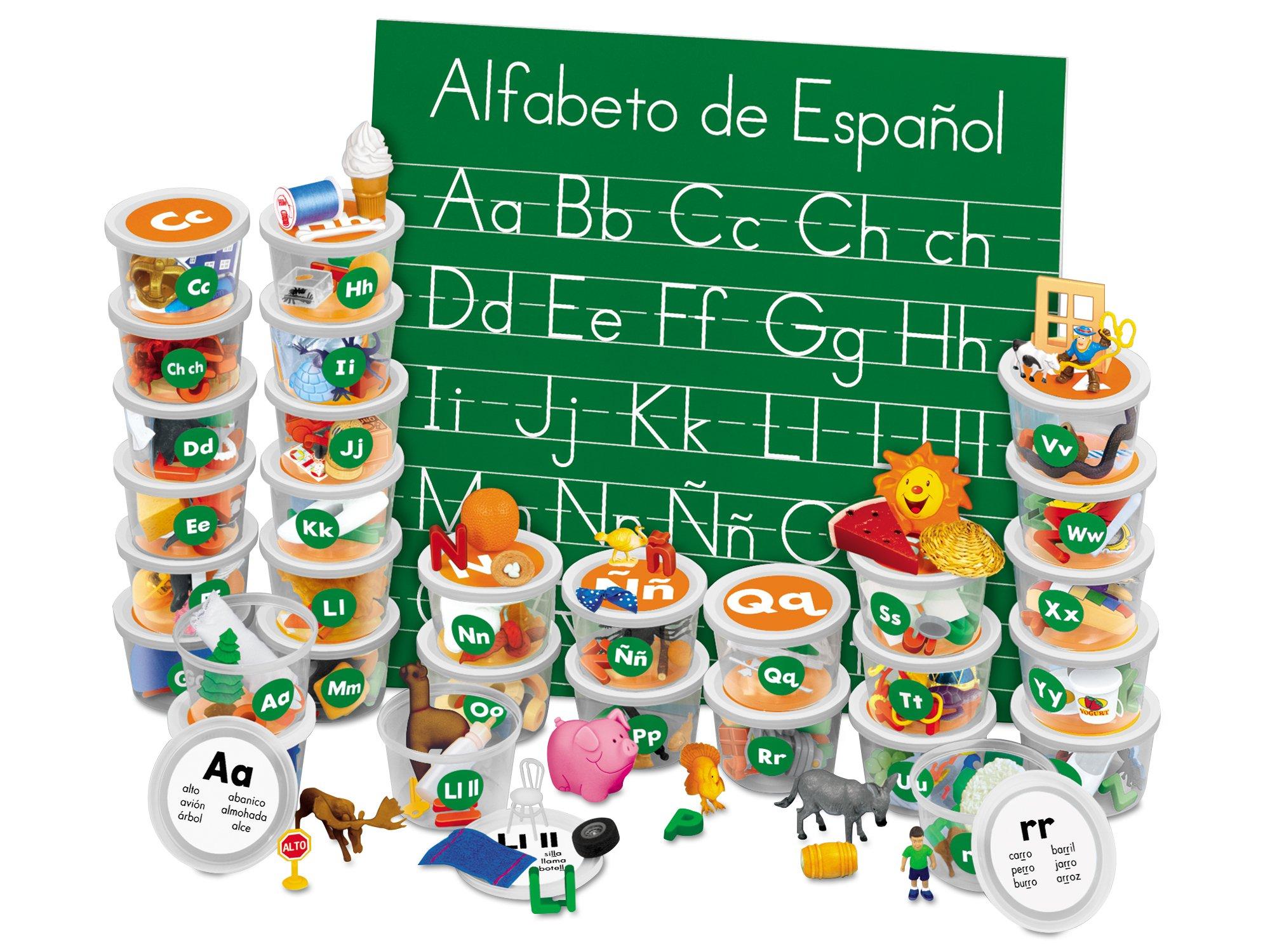 Lakeshore Spanish Alphabet Teaching Tubs