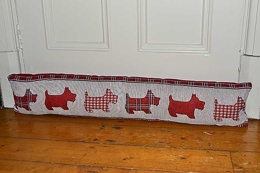 Diseño de cuadros con diseño de Scotty Molly de perro rojo y ...