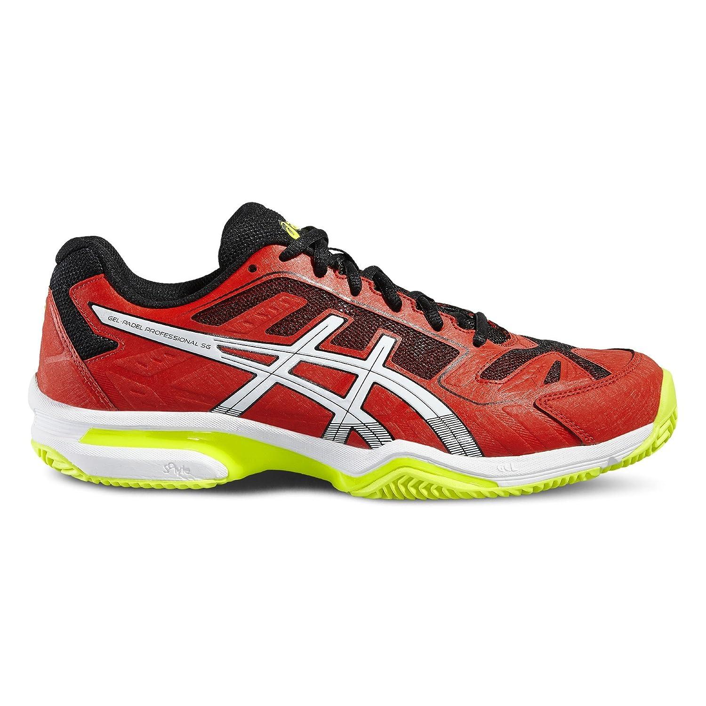 ASICS - Gel Padel Professional 2 SG, Color Rojo, Talla UK-7.5: Amazon.es: Deportes y aire libre
