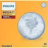 PHILIPS H6024C1 Standard Halogen Sealed Beam headlamp, 1 Pack