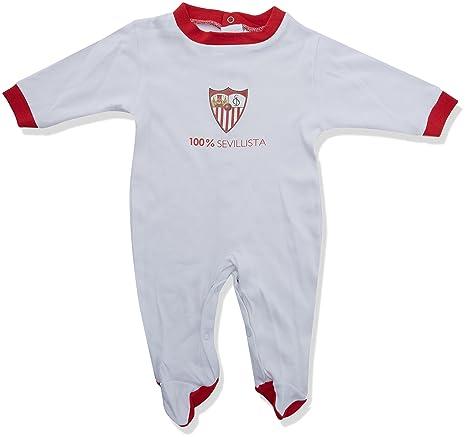 Sevilla FC Pelsev Pelele, Bebé-Niños, Blanco (Blanco/Rojo),