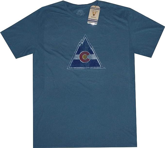 1794395f27a Amazon.com  Retro Sport Colorado Rockies Throwback Vintage Slim Fit ...