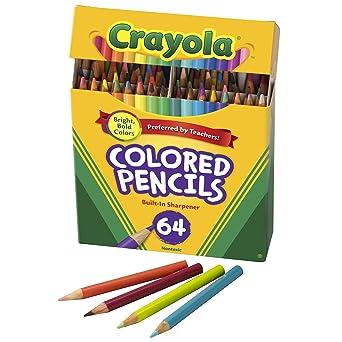 Crayola Mini lápices de colores en varios colores, suministros para colorear para niños, 64 unidades: Amazon.es: Industria, empresas y ciencia