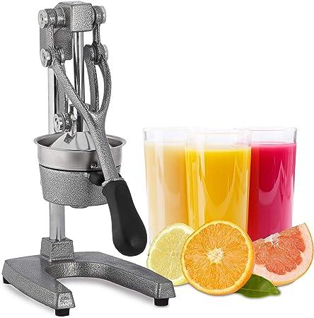 Relaxdays Presse Agrumes Manuel INOX Premium Presse Fruits