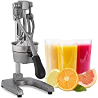 Relaxdays Sappers Handmatig, XL Sinaasappelpers, Professionele Fruitpers, Premium Citruspers, Gastronomische Kwaliteit