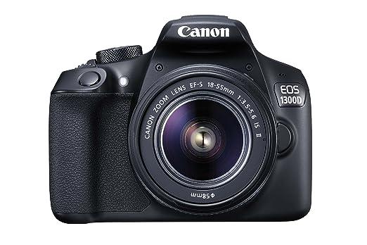 227 opinioni per Canon EOS 1300D Reflex Fotocamera Digitale da 18 Megapixel, Wi-Fi, NFC,