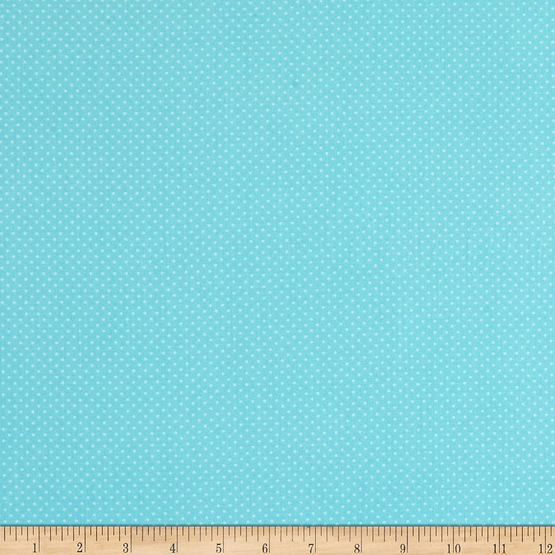 Benartex Butterfly Garden Spring Dots Sky Quilt Fabric, By The Yard (0665134)