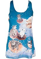 Sidecca Cats and Donuts Tank