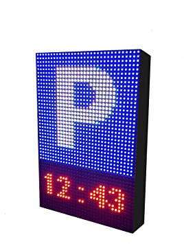 Rótulo LED programable Especial Parking (32x48 cm ...