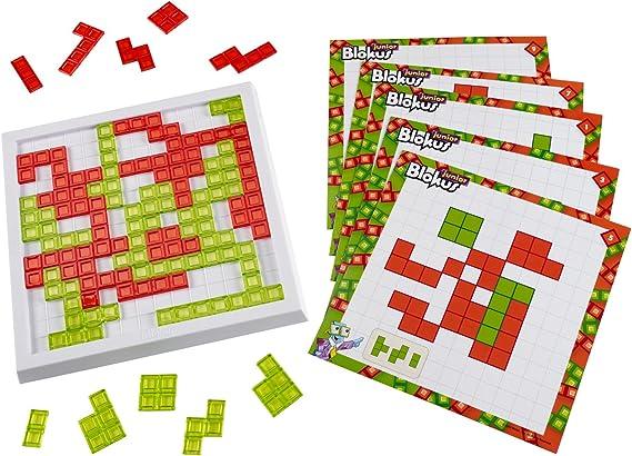 Mattel Blokus Junior Estrategia - Juego de Tablero (Estrategia, Niño/niña, 5 año(s)): Amazon.es: Juguetes y juegos