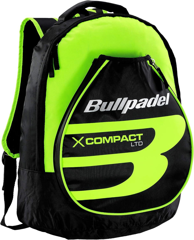 Mochila Bullpadel X-Compact Amarillo Flúor: Amazon.es: Deportes y ...