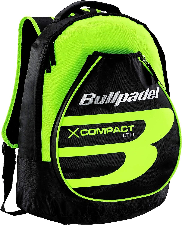 Bullpadel Mochila X-Compact Amarillo Flúor