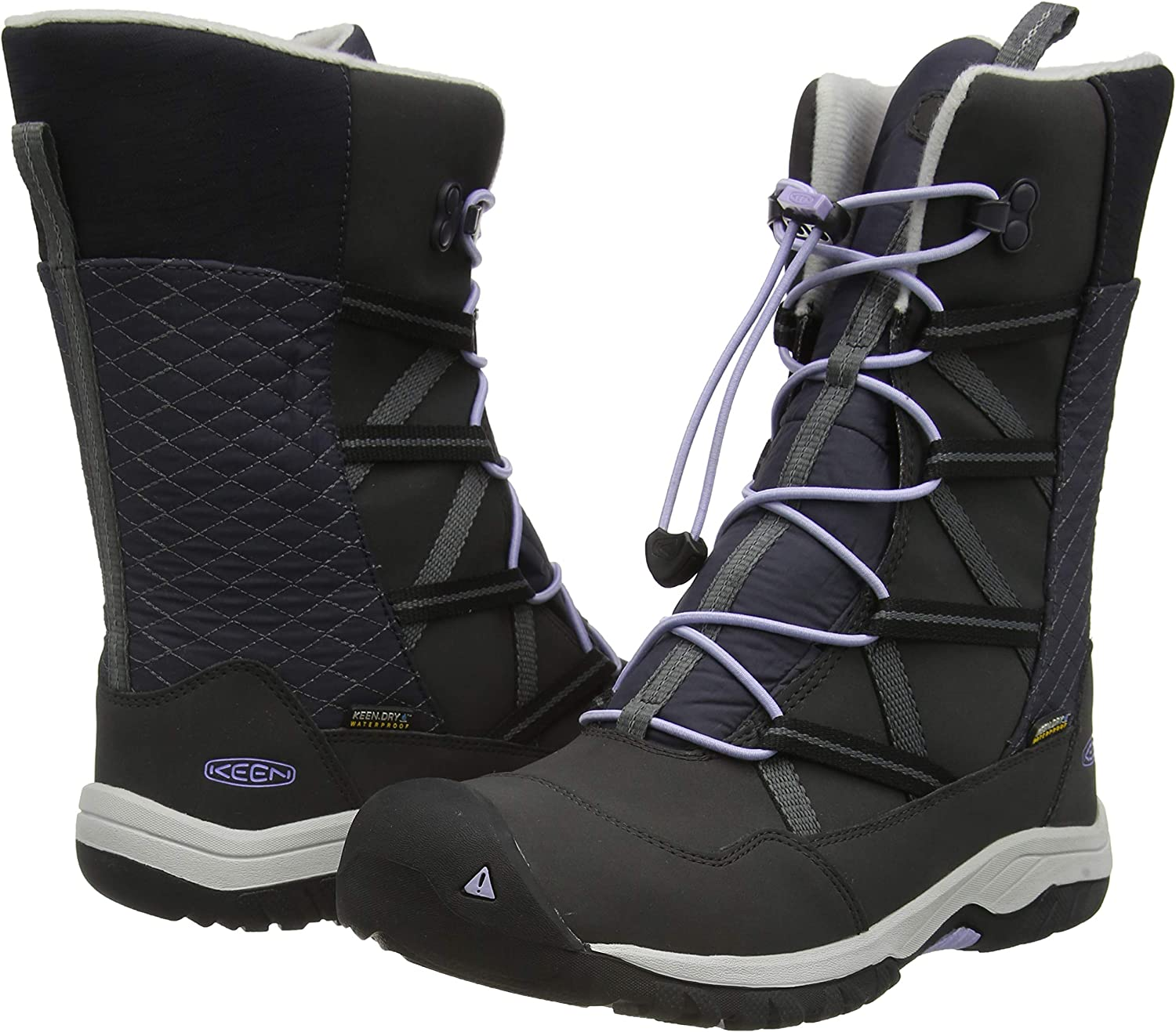 Kids Hoodoo Waterproof Insulated Snow Boot for Winter KEEN