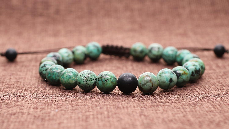 COAI Adjustable Shamballa Inspired You Complete Me Stone Matching Couples Bracelets