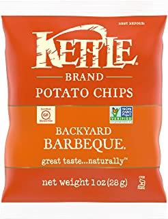 product image for Kettle Brand Potato Chips, Backyard Barbeque, Single-Serve 1 Ounce Bags (Pack of 72)