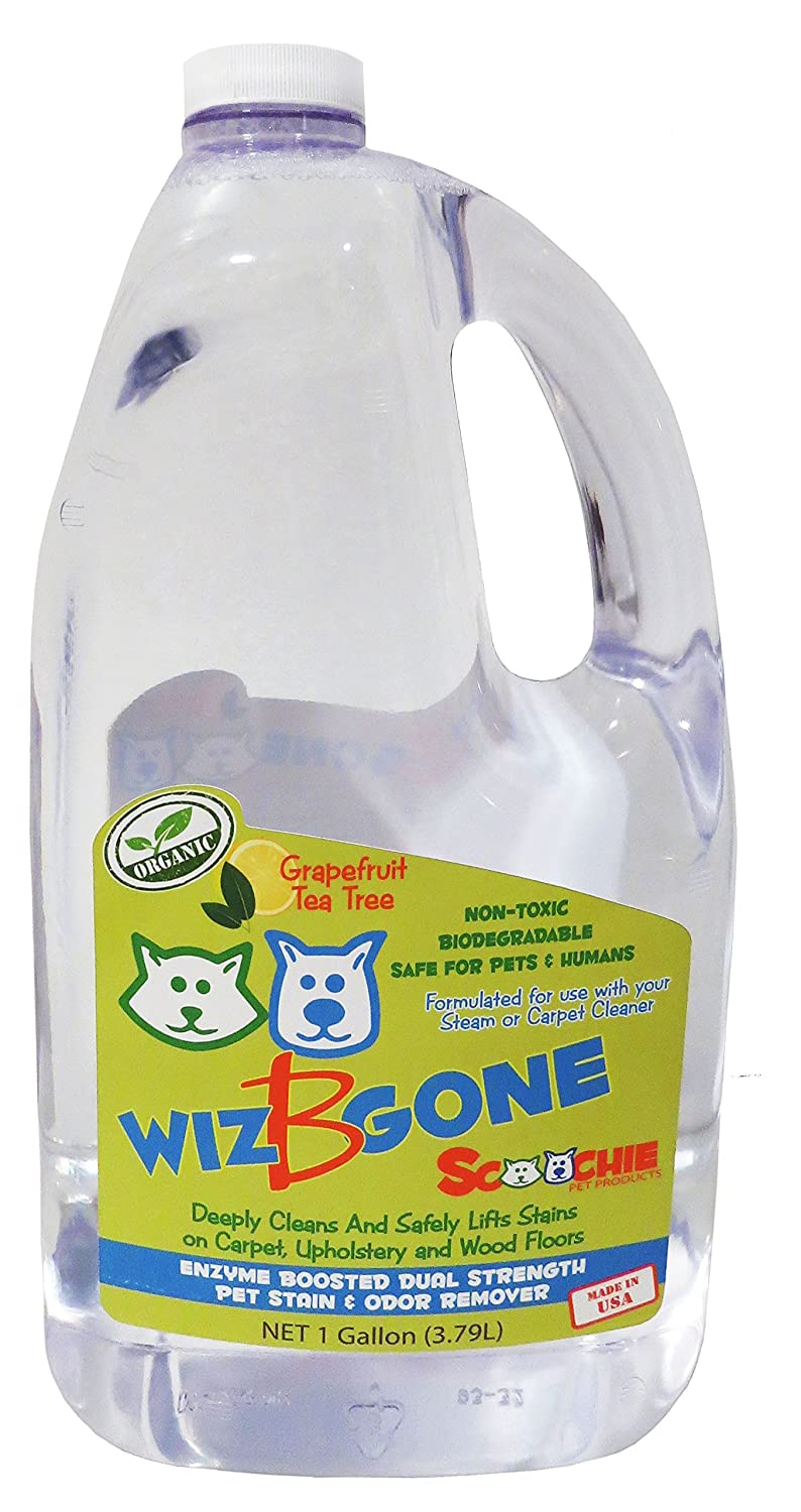 Scoochie Pet Products Wiz B Gone Pet Stain And Odor Remover Gallon ...