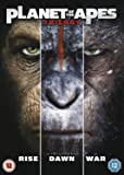 Planet of the Apes Triple [DVD] [2017]