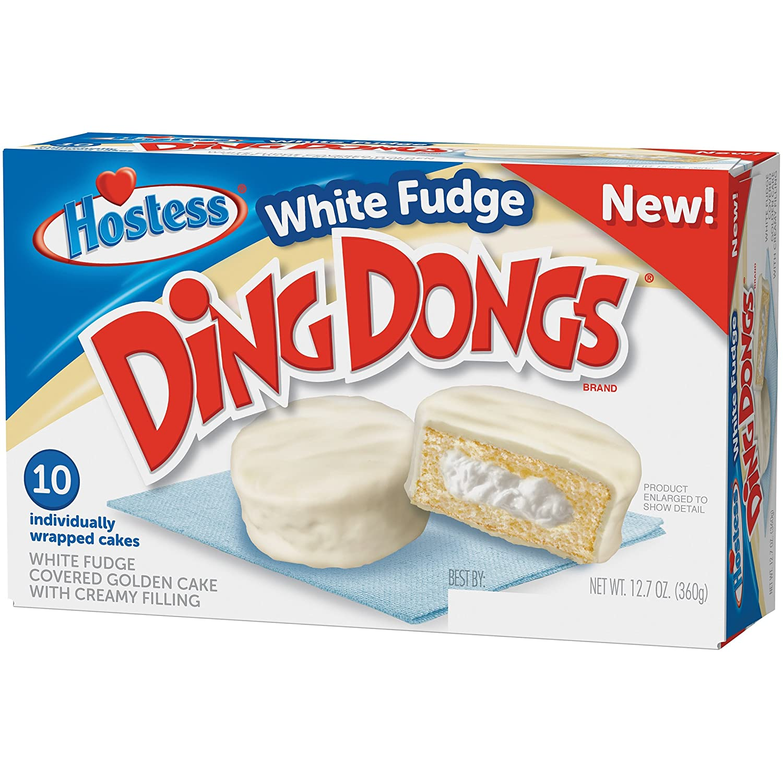 Hostess white fudge ding dongs 12.7oz: Amazon.com: Grocery & Gourmet ...