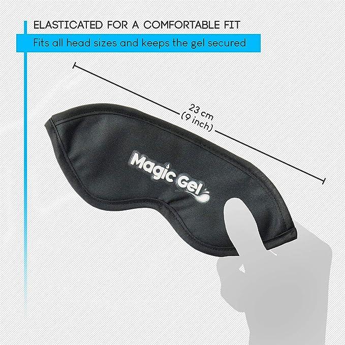 Máscara de ojos de alta calidad para la blefaritis de MagicGel. Obtenga alivio duradero para su dolor de ojos con un pack de gel cálido y suave.