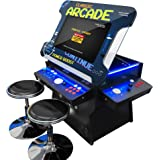 Creative Arcades Full Size Commercial Grade Cocktail Arcade Machine | Trackball | Three-Sided | 1162 Classic Games | 4…