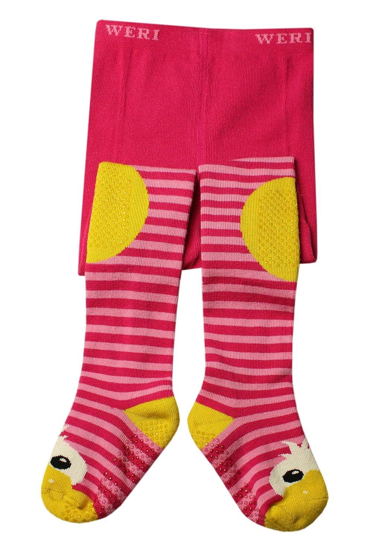 Weri Spezials Bebes-Filles ABS Canard Collants Pink