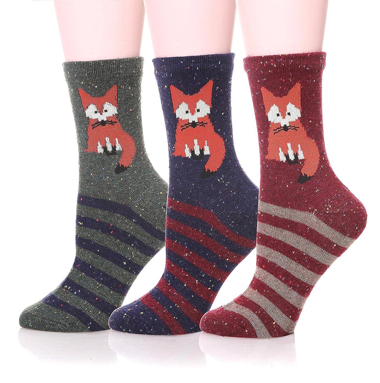 LJ Sport Tiere Design Socken Weihnachten Geschenk Damen Mädchen ...