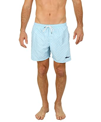 7b6c3a8a68a UZZI Men s Malibu Quick Dry Printed Short Swim Trunks