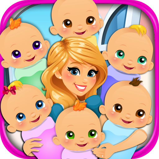 [Sextuplets Newborn Baby & Mommy - Kids Pregnancy & Doctor Games FREE] (Fun Dress Up Games For Adults)
