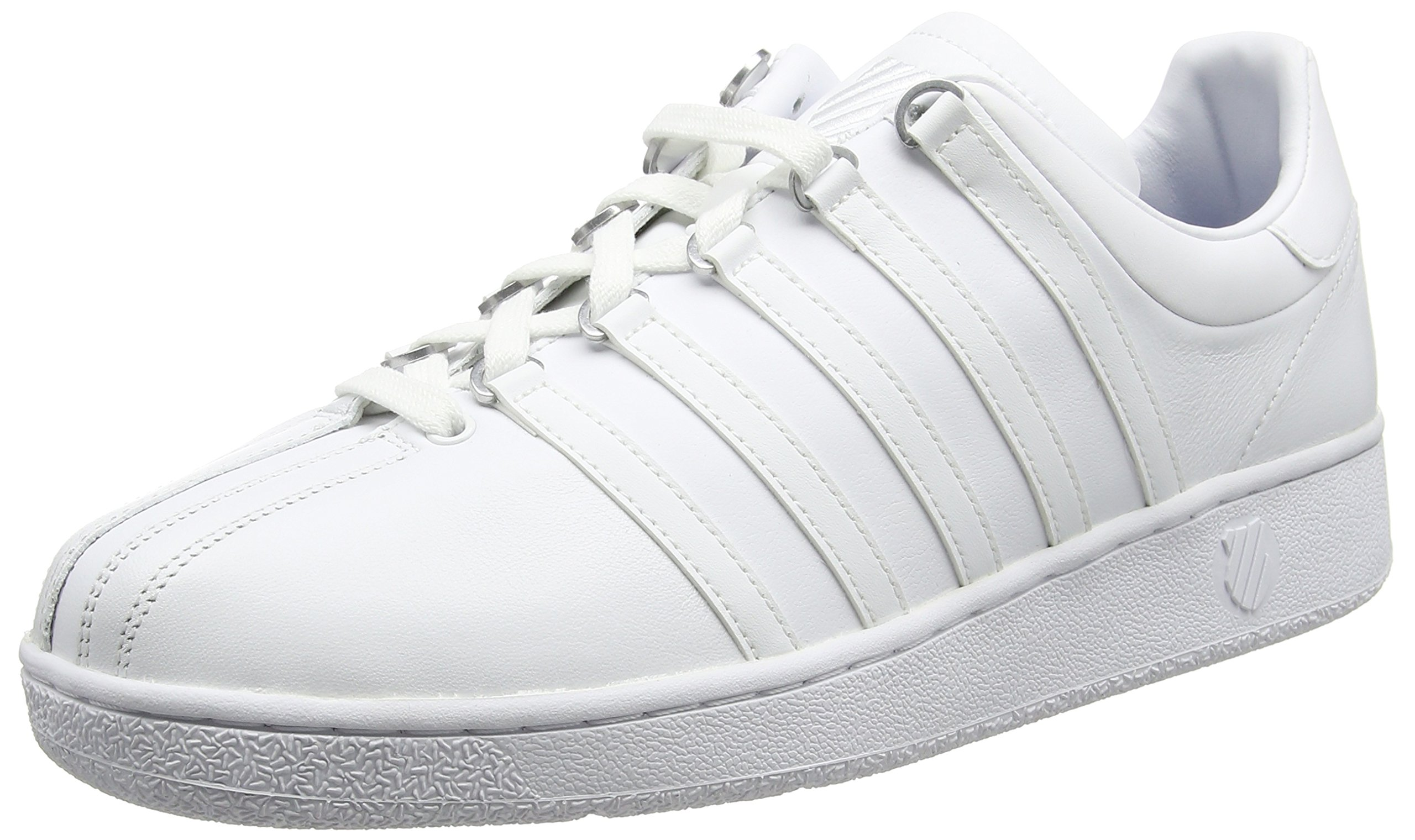K-Swiss Men's Classic Vintage Updated Iconic Shoe, White ...