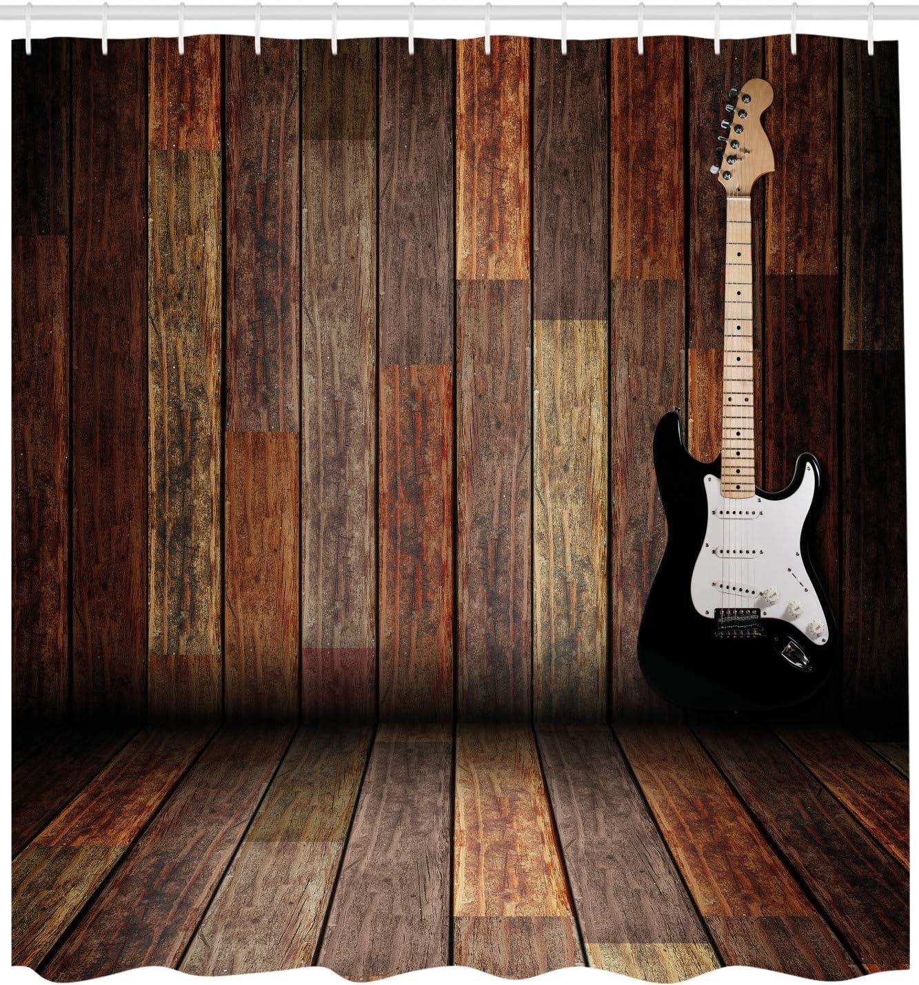 ABAKUHAUS Partido Estrella del Pop Cortina de Baño, Guitarra Sitio ...