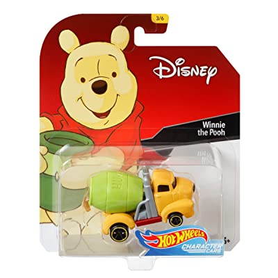 Hot Wheels Winnie The Pooh Vehicle, 1:64 Scale: Toys & Games