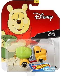 Hot Wheels Winnie The Pooh Vehicle, 1:64 Scale