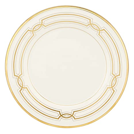 Lenox 852345 Eternal 50th Anniversary Accent Plate White  sc 1 st  Amazon.com & Amazon.com | Lenox 852345 Eternal 50th Anniversary Accent Plate ...