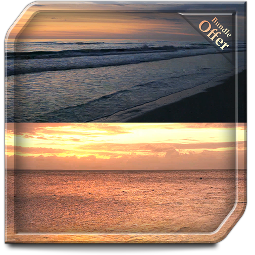 Seashore Sunset HD - An TV theme to Relax yourself with Peaceful waves