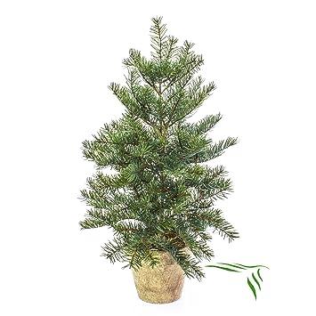 Künstlicher Tannenbaum Im Topf.Artplants Künstliches Nordmann Tannenbäumchen Im Topf 45cm Künstlicher Weihnachtsbaum
