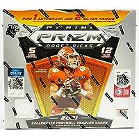 $155 » 2021 Panini Prizm Collegiate Draft Picks Football HYBRID box (12 pks/bx)