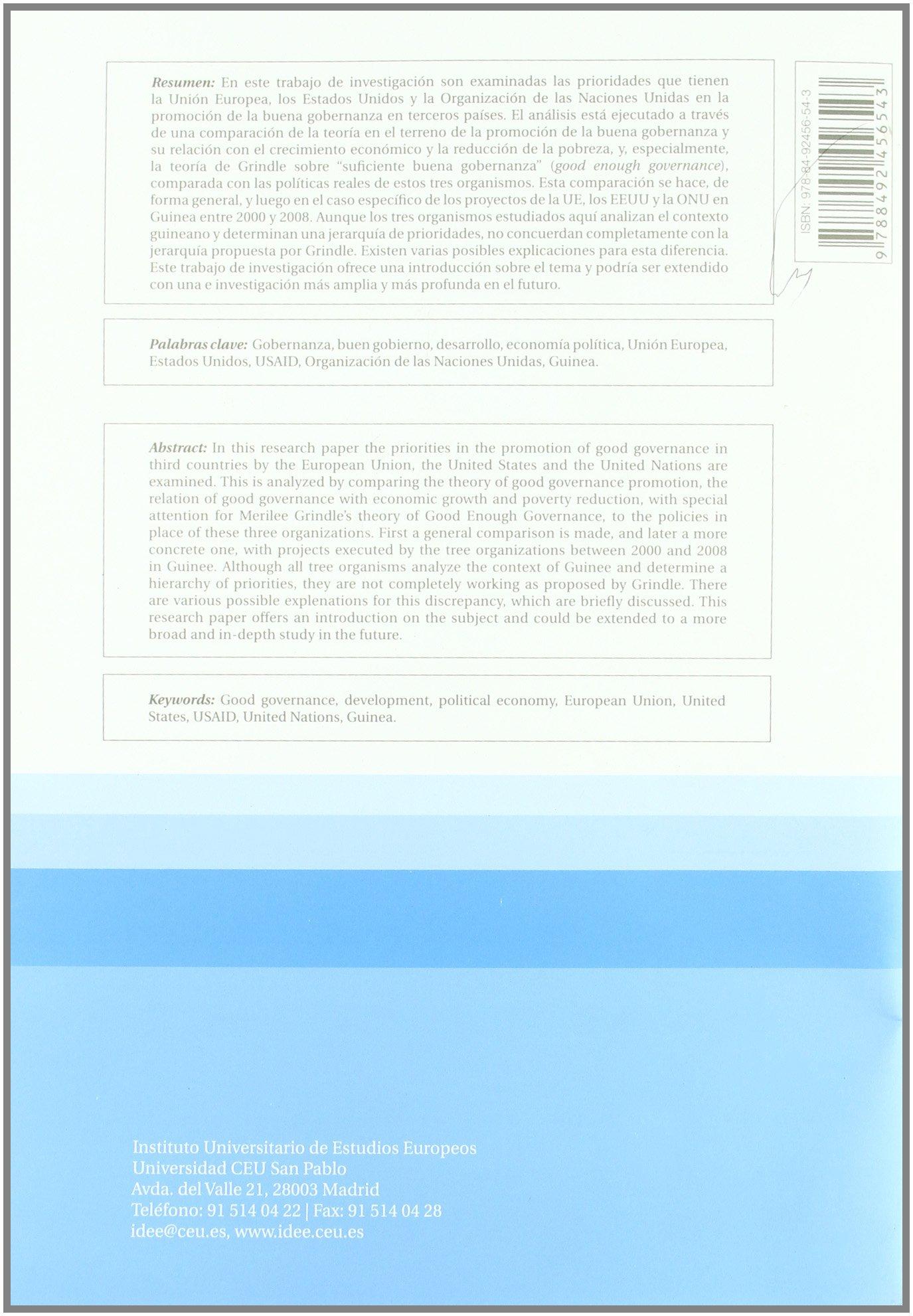 LA COOPERACION A MEDIDA: UN TRAJE PARA C: 9788492456543 ...