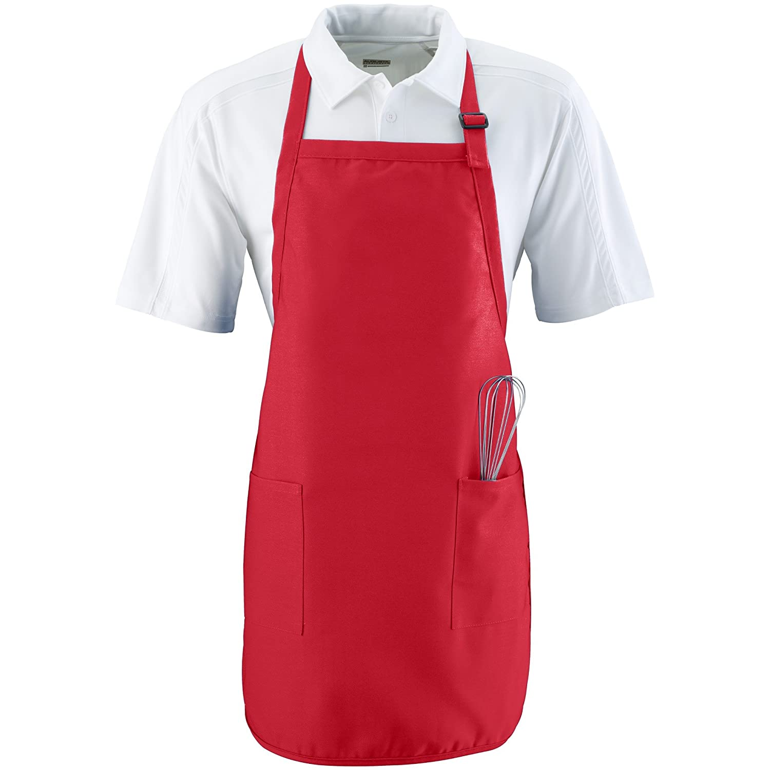 Augusta Sportswear Full Length Apron With Pockets