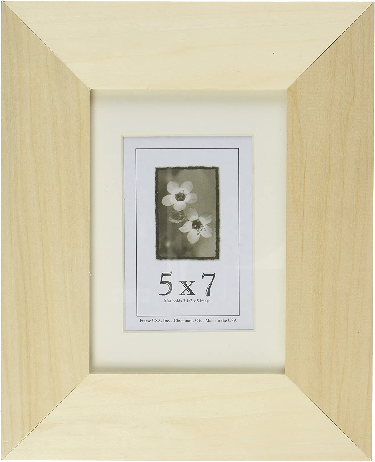 Frame Usa Decorate It Series 5x7 Diy Unfinished Wood Frames 2 Inch Profile Width