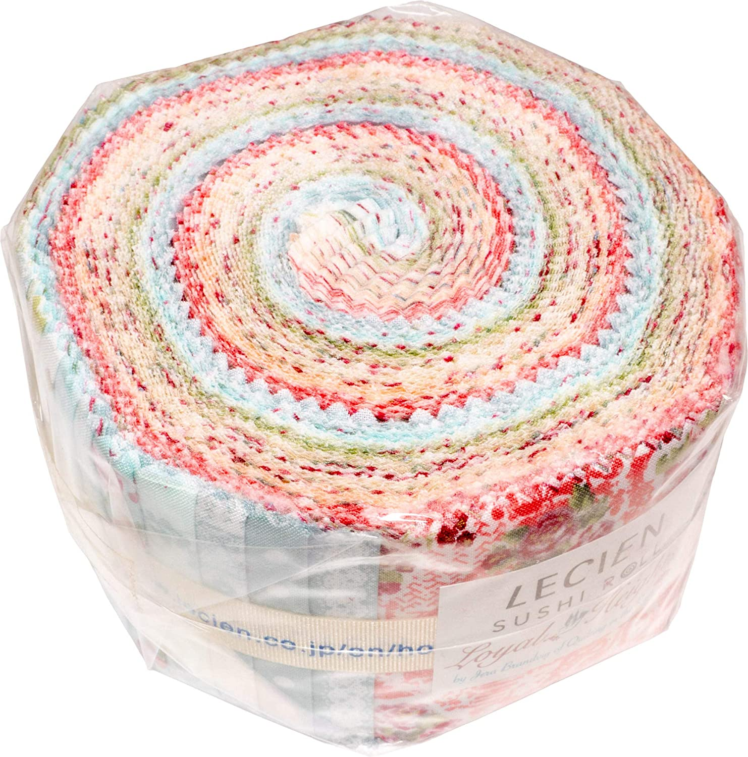 Jera Brandvig Loyal Heights Sushi Roll 42 2.5-inch Strips Jelly Roll Lecien