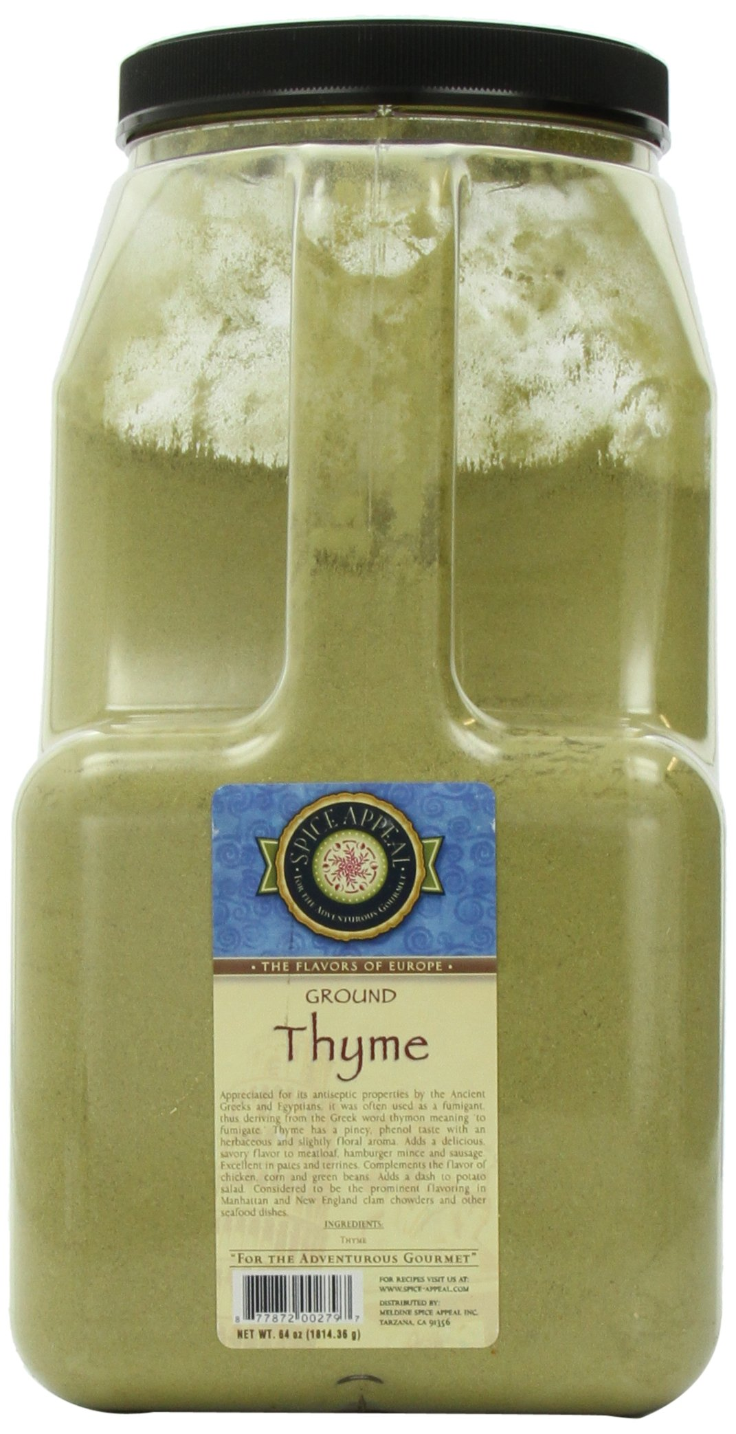 Spice Appeal Thyme Ground, 4 lbs