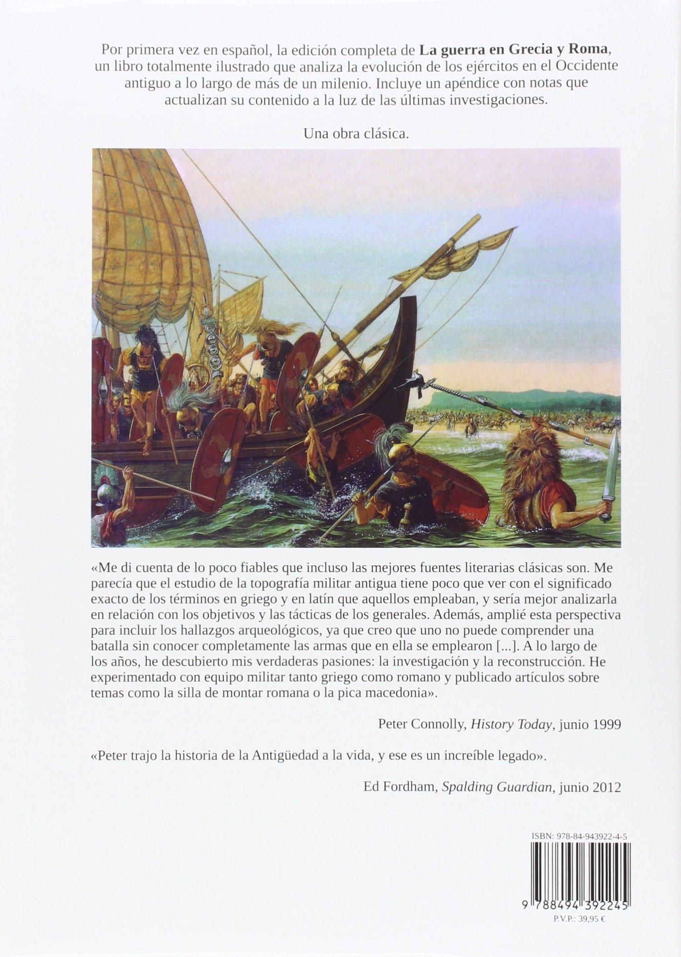 La guerra en Grecia y Roma (Ilustrados): Amazon.es: Peter ...