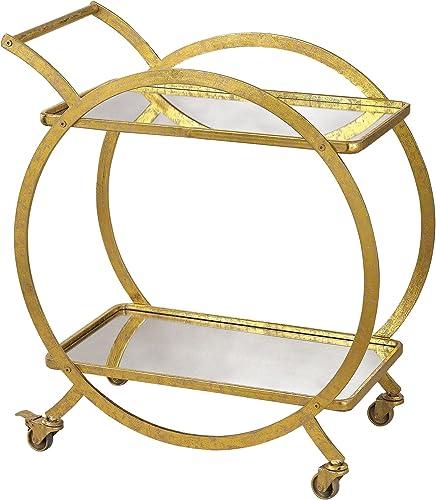 Elk-Home 351-10212 31.5″ Ring Bar Cart